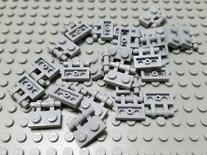LEGO Lot of 25 Light Bluish Gray 2x3 Plates