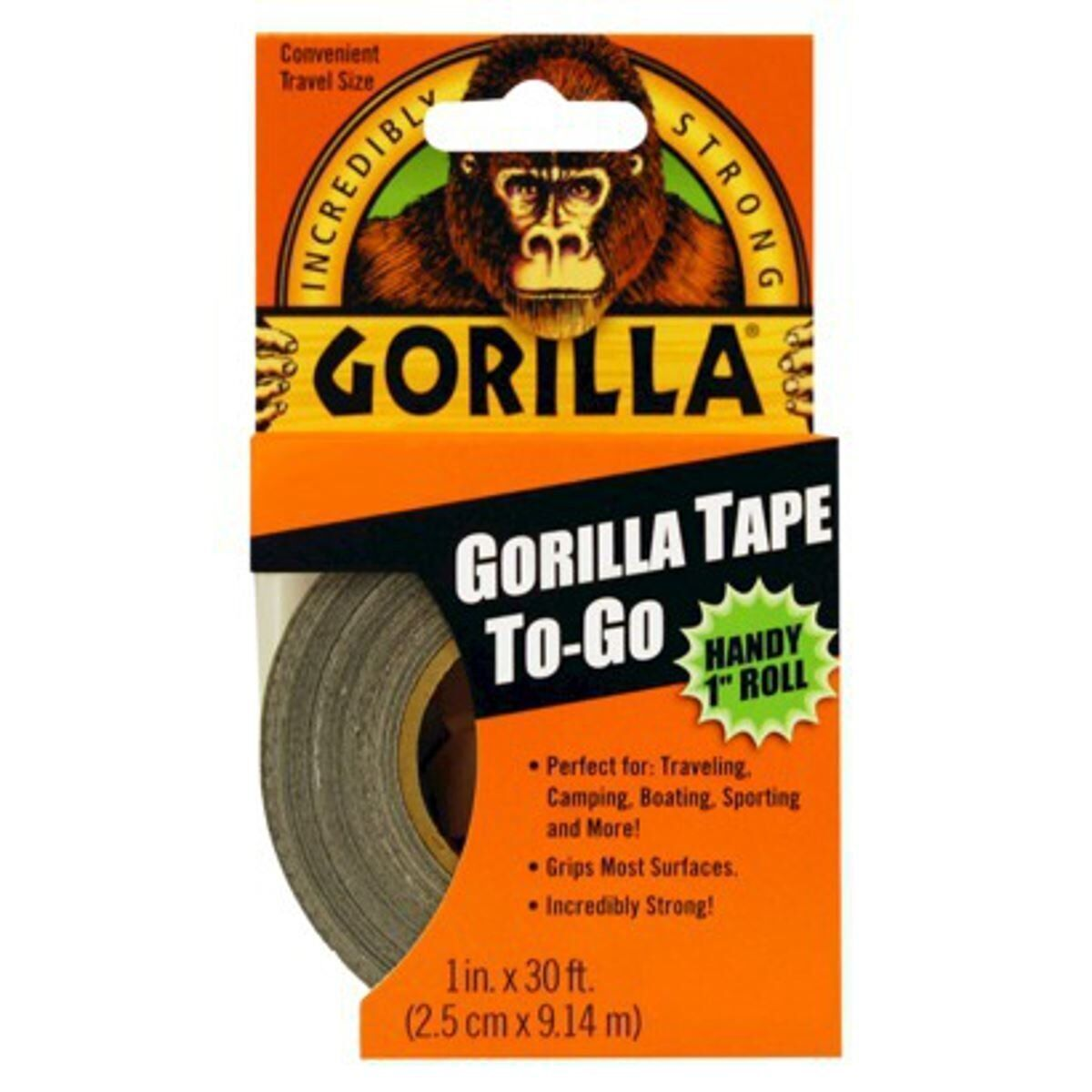 12 x Gorilla Glue Tape Handy Roll 1  wide x 9M Tape to Go Strong Duct tape