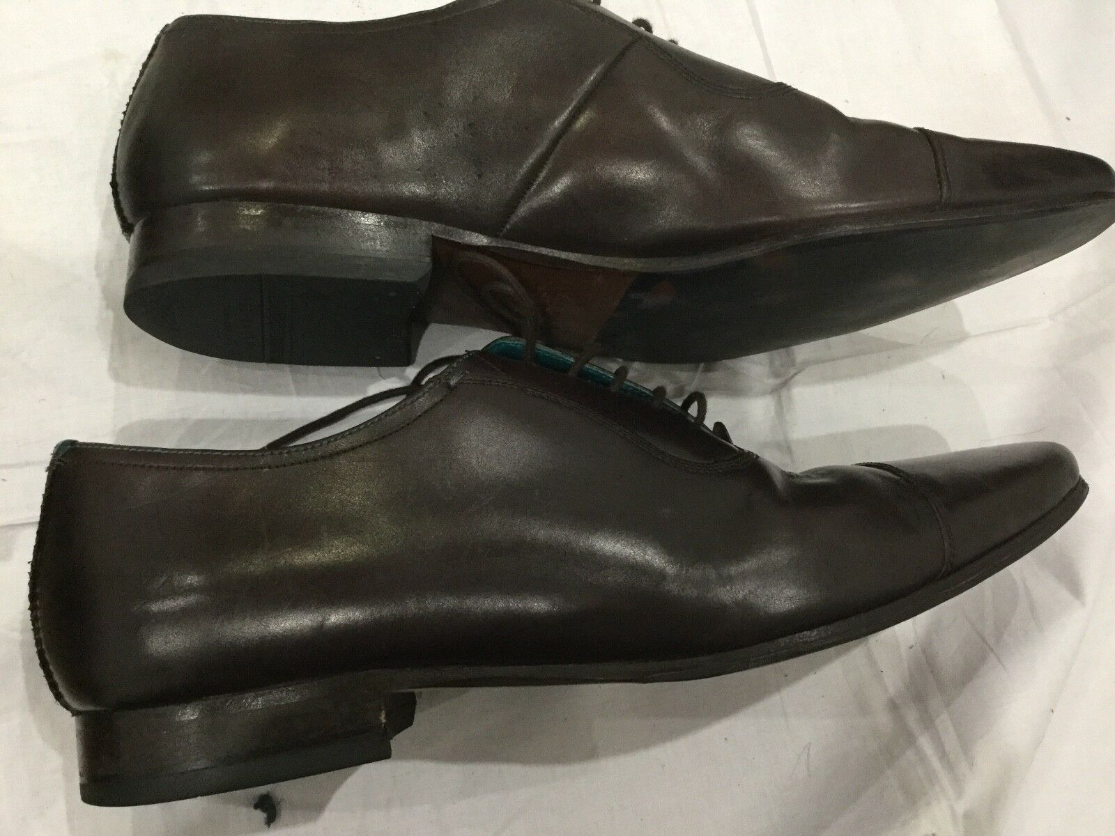 Ted Baker Pointed Toe Cap Oxford Oxford Oxford schuhe, braun Tan UK 10 8cc077
