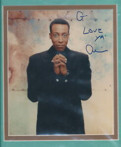 Arsenio Hall Nicely Double Matted Signed Color Photo Ebay