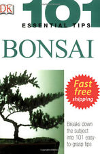 101 Essential Tips: Bonsai by Harry Tomlinson Paperback How to care Bonsai Tree