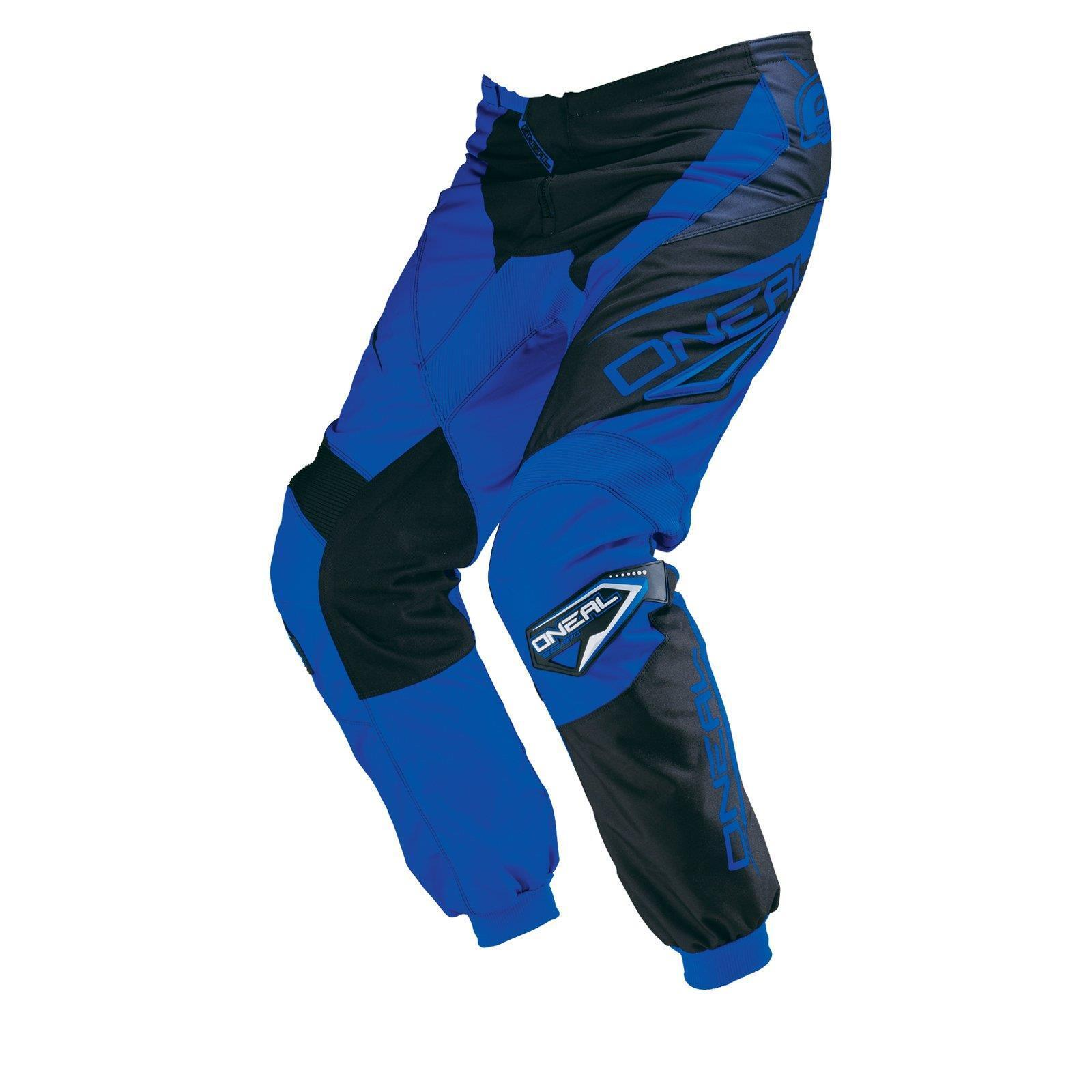 ONeal Element MX Hose RACEWEAR blue black Moto Cross Enduro Motorrad MTB DH FR