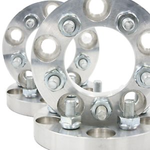 5x114.3 Wheel Adapters 20mm Thick 12x1.5 US Lug Spacers x 4 Rims 5x5 to 5x4.5