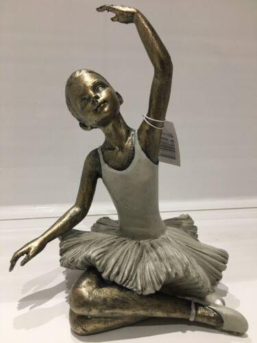 Shudehill Giftware Pretty Ballerina Girl Dance Arm Up Ornament  Dancer Gift