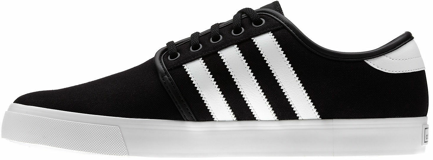 Adidas - Seeley - | G66636 - New - Seeley Mens Skate Shoes | Black / White 65 e1a9b5