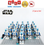 thumbnail 12 - 21pcs lot STAR WARS Clone Trooper Commander Fox Rex Mini toy building block