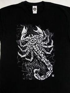 Sting-Scorpion-Wrestling-Officially-Licensed-WWE-T-Shirt