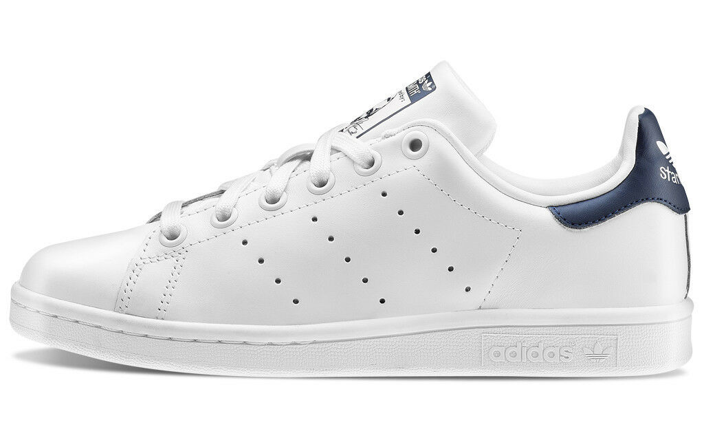 Adidas Stan Smith Nuevo Zapatillas Adidas Zapato hombre Nuevo Smith Bianco Blu fb8a03