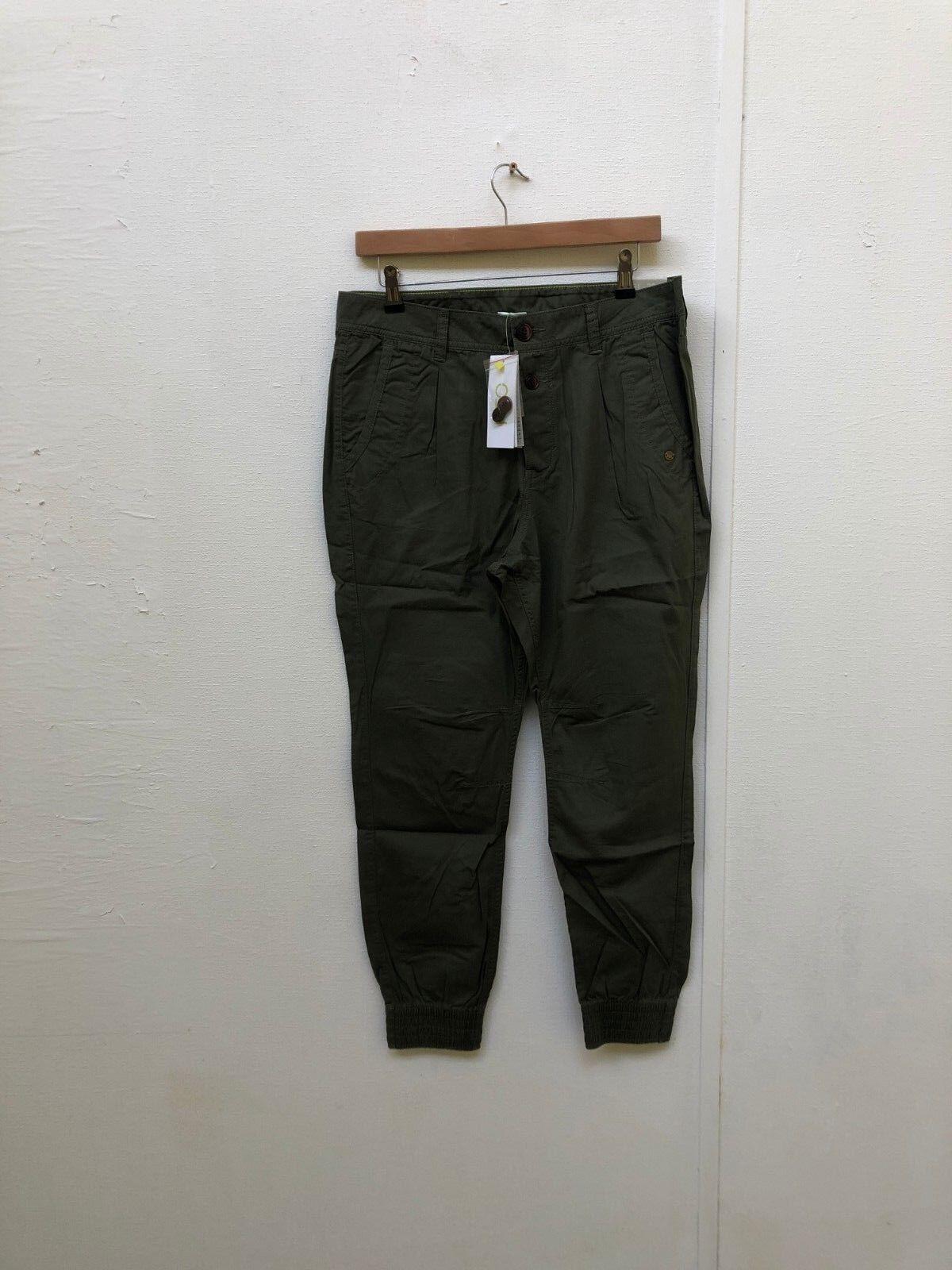 Pantalon de pêche pour femme adidas NEO - W31 L30 - Vert kaki - Nouveau