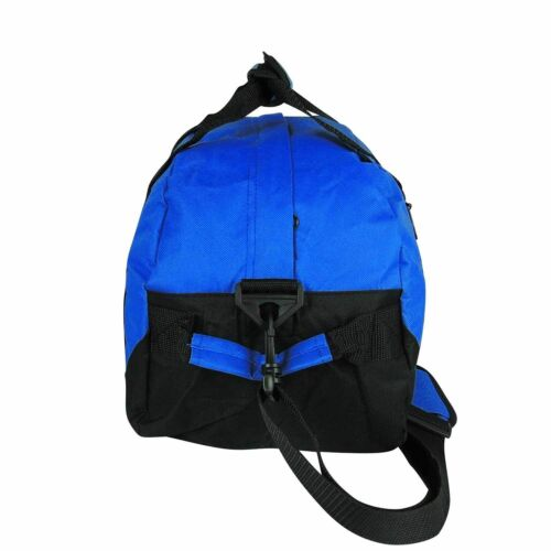"""Two Tone Duffle Duffel Bag Bags Travel Sport Gym Carry On Luggage Weekender 14/"""""""