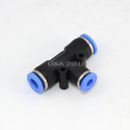 Od 6mm-4mm-6mm neumática rápido empuje para conectar Tee Tubo Unión Reductor Conector