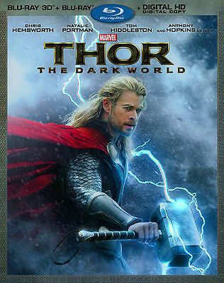 BLU-RAY 3D THOR 2: THE DARK WORLD MARVEL'S 2D/3D SET