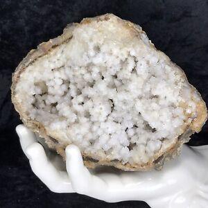 5-Crystal-Large-Geode-Natural-Kentucky-Spirit-Quartz-Cluster-Snowballs-2-1Lb