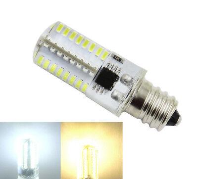 10pcs E12 Candelabra C7 64-3014 LED Light Lamp Bulb Fit PQ1500S White 120V