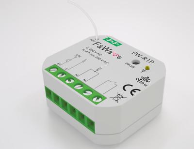 F/&F F/&WAVE R1P Bistabiles Relais Funk Steuerung elektrische Geräte LED Lampe