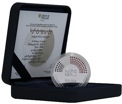 Collector coin dedicated to the Rugby 5 Lari 2019