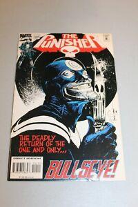 RARE-PUNISHER-102-NM-EPIC-BULLSEYE-COVER-LOW-PRINT-RUN-HTF-1995-Art-Comic-nice