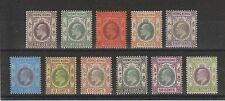 Hong Kong, KEDVII 1903 set to $1 mint (SG62 - 72)