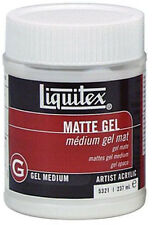 Liquitex Artists Acrylic MATT GEL MEDIUM 237ml. Artists Acrylic Painting Medium