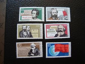 Germany-Rda-Stamp-Yvert-Tellier-N-2427-A-2432-N-MNH-COL9