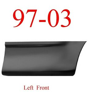 Lower Front 97 03 Right Bed Patch Panel Short Bed 1984-144 Ford F150 Truck