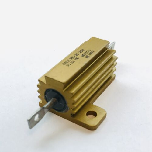 30.1 Ohm 1/% 25W Wirewound Power Resistor Vishay Dale RH-25