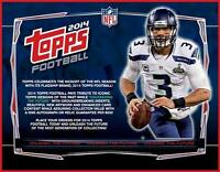 2014 Topps Football Hobby Box In Stock Ready 2ship Sealed Free Priority Shipping