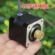 18 Degree Nema 17 42mm 2 Phase 4 Wire Stepping Stepper Motor 5mm Shaft Pulley