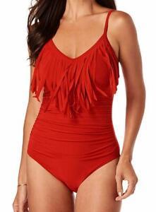 MAGICSUIT-Rouge-Blaire-Fringe-Underwire-One-Piece-Swimsuit-US-16-NWOT