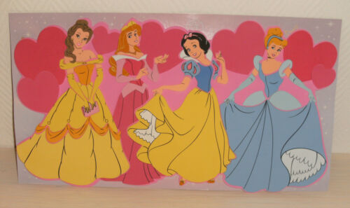 Disney Prinzessinen großes Wandbild Moosgummi