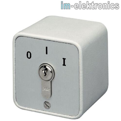 Schlüsseltaster Schlüsselschalter AP Aufputz geba S-APZ 1-1R//2 Tor Antrieb Motor