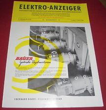 zeitschrift elektro anzeiger girardet technik wirtschaft heft  dez. 1960 alt