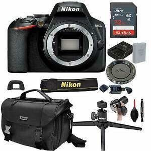 Nikon-D3500-Digital-SLR-DSLR-Camera-Body-Black-13pc-Bundle