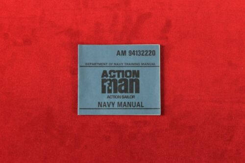 Action Man 40th Action Soldier Navy Manual