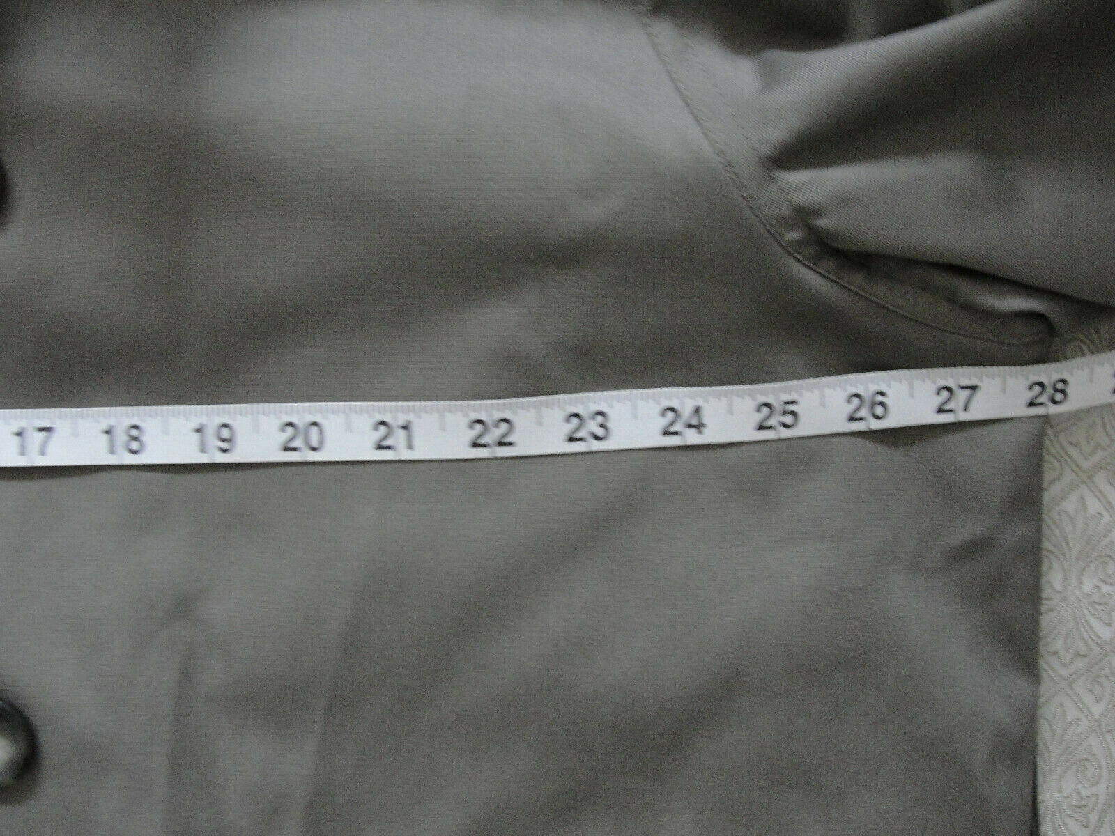 Ralph Lauren Trench coat Olive green Lined Size 4… - image 10