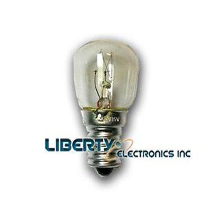 new refrigerator lamp ac 120v 15w s26 tube e14s base ebay. Black Bedroom Furniture Sets. Home Design Ideas