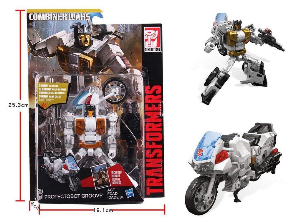 Transformers Generations Combiner Wars PROTECTOBOT GROOVE Deluxe Class Spielzeug