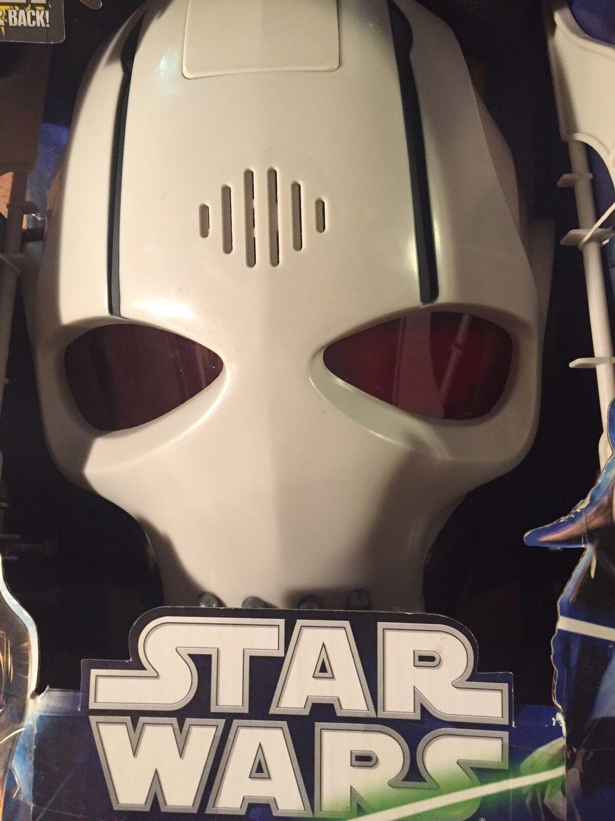 Star - wars - general grievous elektronischen helm neue