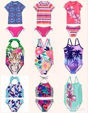Gymboree Swim Shop//Swimwear XS S M L Rash Guard Swimsuit 4 5 6 7 8 10  Girls NWT