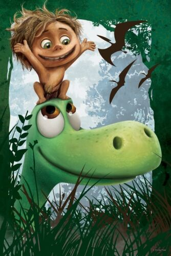 Trefl 60 Pièce Enfants Unisexe Disney Pixar Arlo /& Spot Dino amis Jigsaw Puzzle
