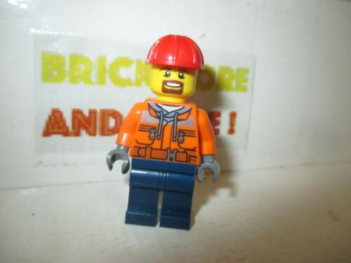 Forklift Driver 60198 trn242 Minifigures City Lego