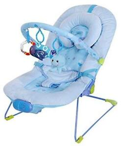 Bouncing Baby Chair Vibrating Lullaby Rocker Swing Seat Infant Musical Bouncer