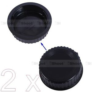 2x-New-Rear-Cap-Cover-Protector-Installation-Point-fr-Nikon-DX-FX-F-Mount-Lens
