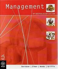 Management: 4th Australasian Edition + Ebook by The Hon Lord Davidson...