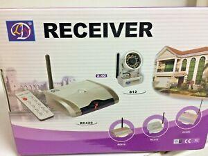 receiver security mini camera wireless system  4 cameras