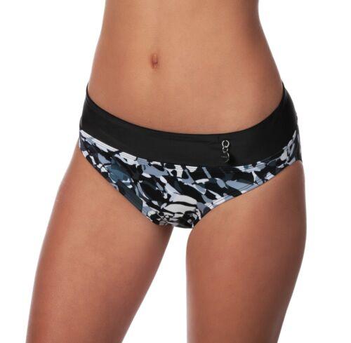 Panache Tao Camouflage Fold-Over Bikini Swimsuit Swim Bottom Swimwear MRSP $30