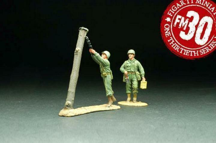 Figarti Zinn WW2 Amerikanische ETA-010 Abbrucharbeiten Ingenieure MIB