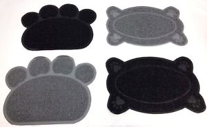 New-Paw-Pet-Feeding-Mat-Dish-Bowl-Place-Mat-PVC-Dog-Puppy-Cat-Kitten-Food-Mat