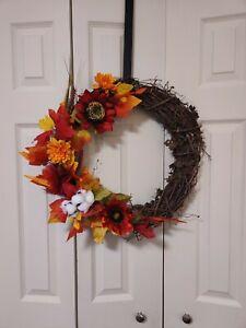 FallAutumn wreath