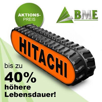 2 Stück zum Aktionspreis! Gummikette Baggerkette für Airman Minibagger Bagger